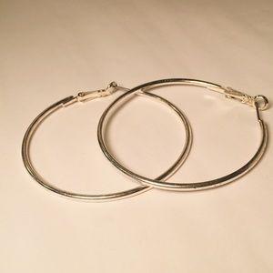Jewelry - 💚Bundle 3 for $12: Large Hoop Earrings